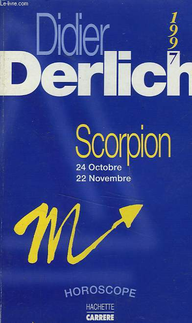 SCORPION, HOROSCOPE 1997