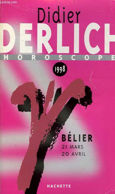 BELIER, HOROSCOPE 1998