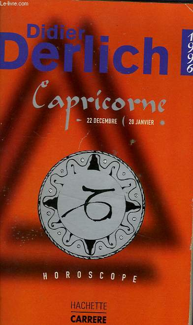 CAPRICORNE, HOROSCOPE 1996