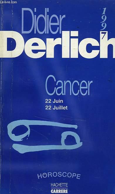CANCER, HOROSCOPE 1997