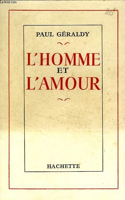 L'HOMME ET L'AMOUR