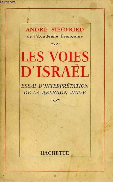 LES VOIES D'ISRAEL