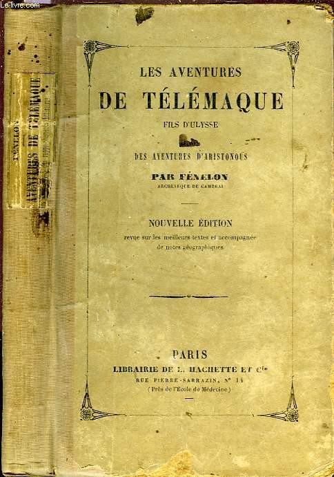 LES AVENTURES DE TELEMAQUE FILS D'ULYSSE suivies des AVENTURES D'ARISTONOÜS