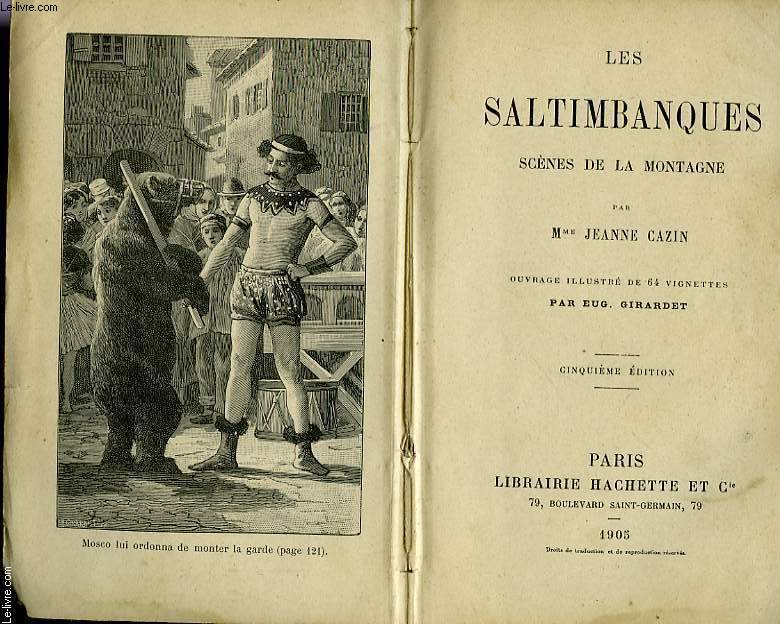 LES SALTIMBANQUES, SCENES DE LA MONTAGNE