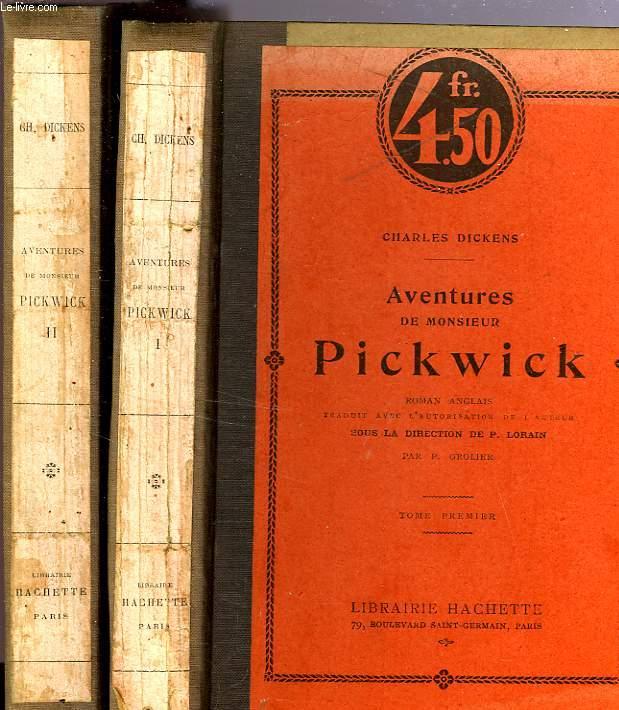 AVENTURES DE MONSIEUR PICKWICK, TOMES 1 et 2