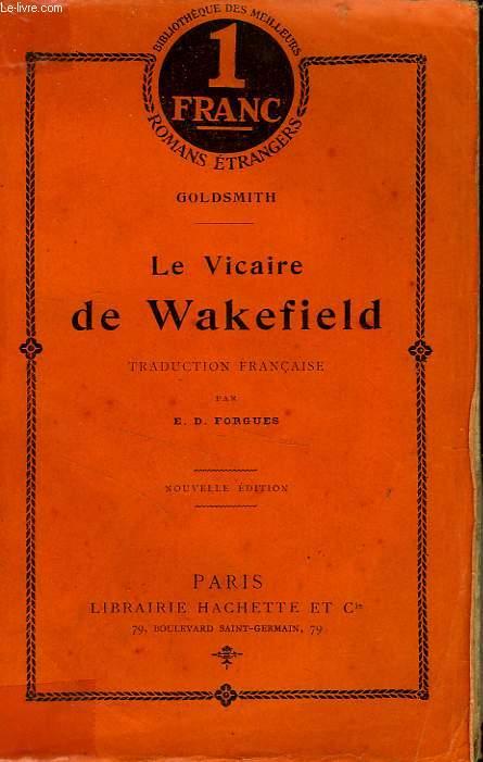 LE VICAIRE DE WAKEFIELD