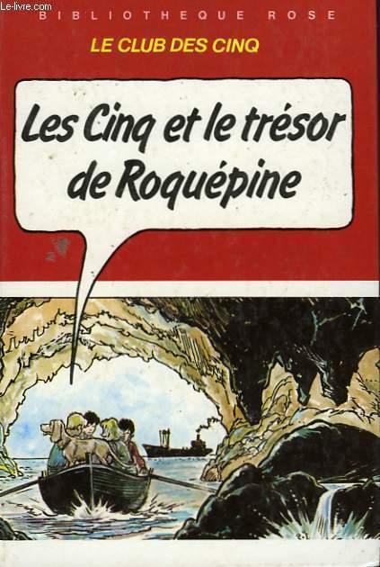 LES CINQ ET LE TRESOR DE ROQUEPINE