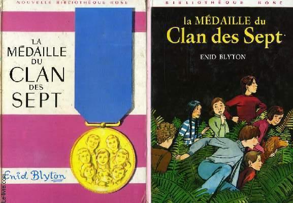 LE CLAN DES SEPT, LA MEDAILLE DU CLAN DES SEPT