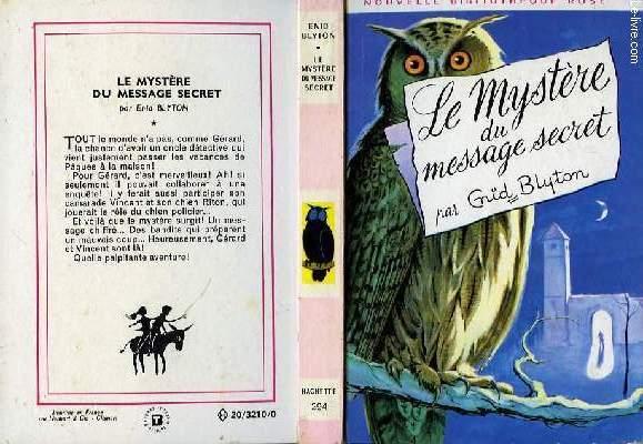 LE MYSTERE DU MESSAGE SECRET
