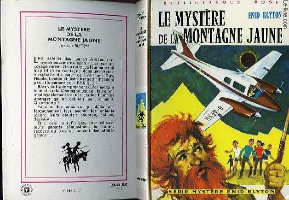 LE MYSTERE DE LA MONTAGNE JAUNE