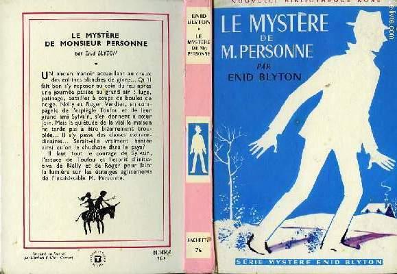 LE MYSTERE DE M.PERSONNE