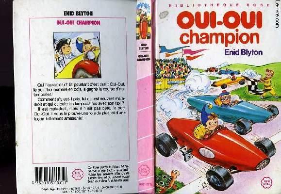 OUI-OUI CHAMPION