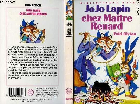 JOJO LAPIN CHEZ MAITRE RENARD