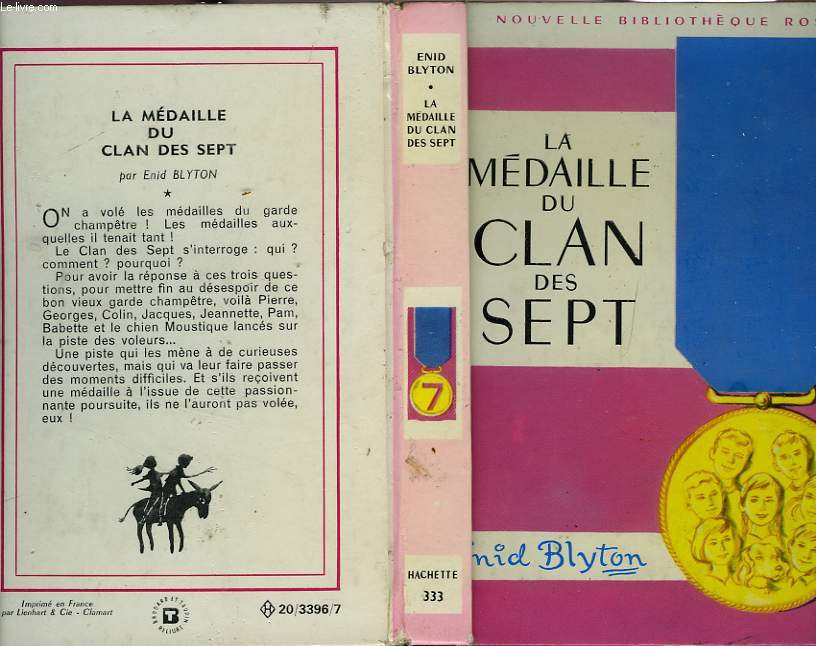 LA MEDAILLE DU CLAN DES SEPT