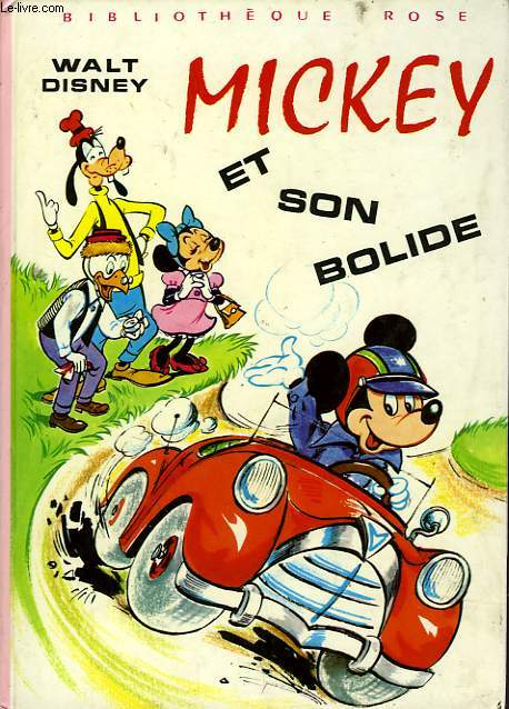 MICKEY ET SON BOLIDE