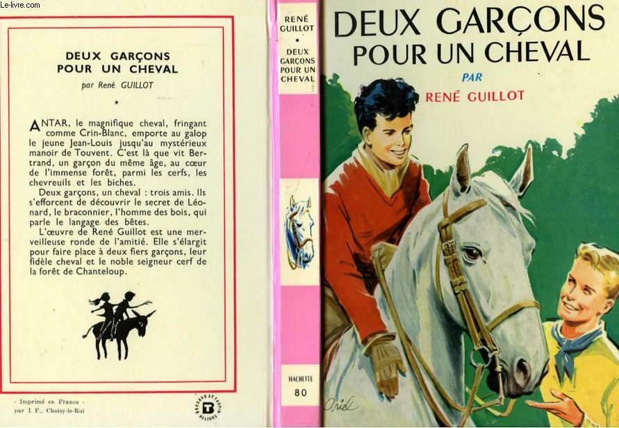 DEUX GARCONS POUR UN CHEVAL