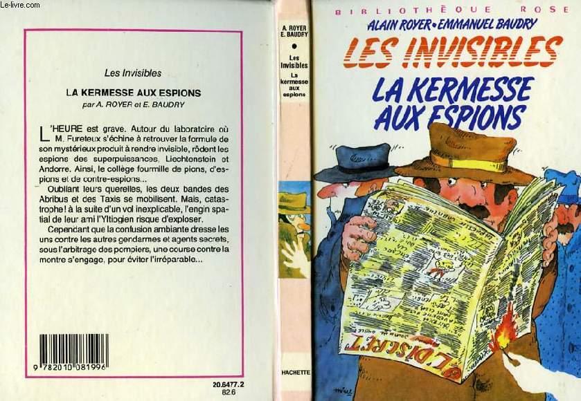 LES INVISIBLES - LA KERMESSE AUX ESPIONS