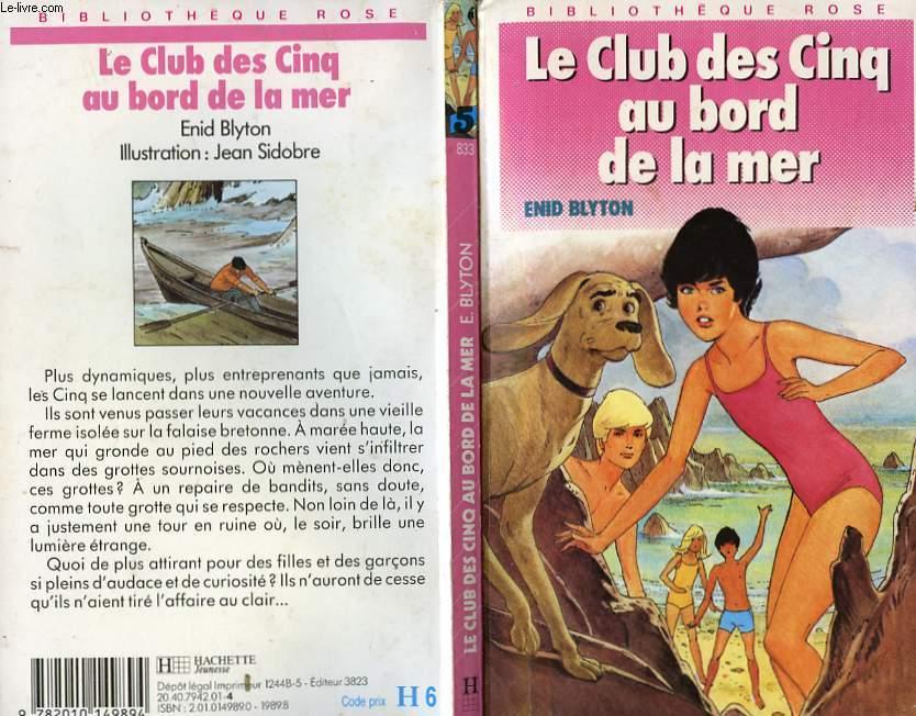 LE CLUB DES CINQ AU BORD DE LA MER