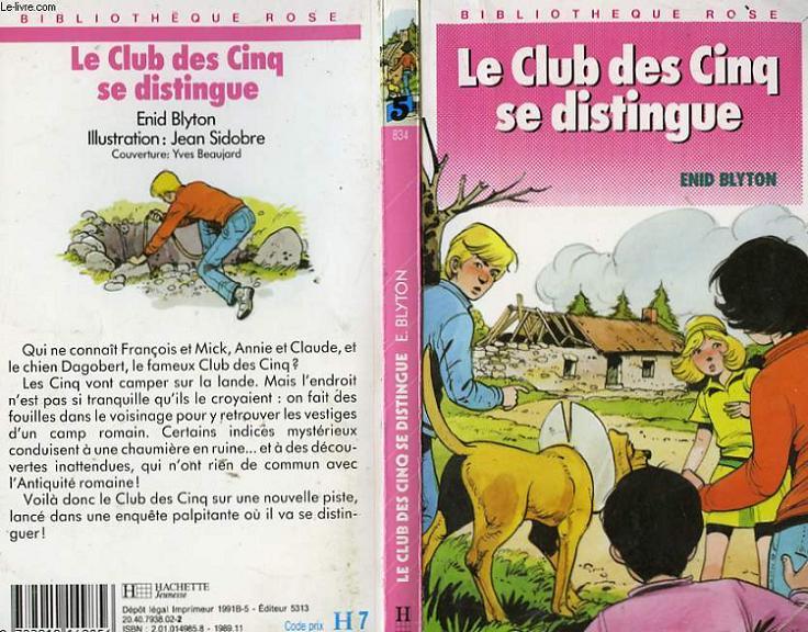 LE CLUB DES CINQ SE DISTINGUE