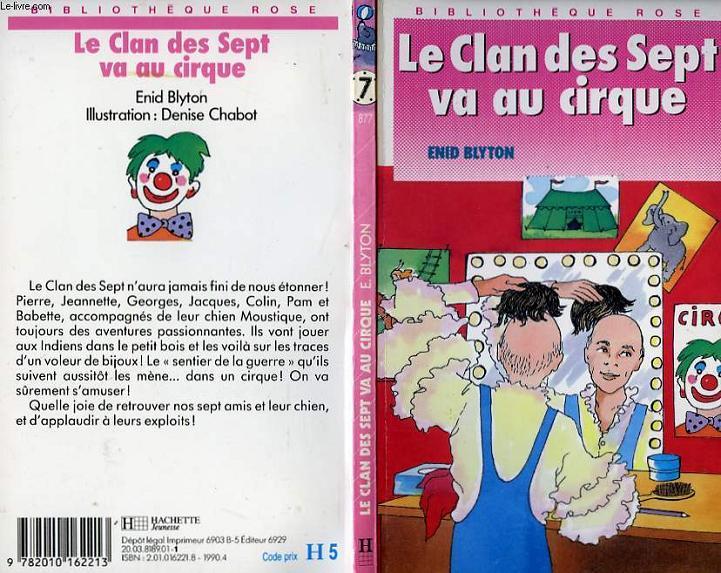 LE CLAN DES SEPT VA AU CIRQUE