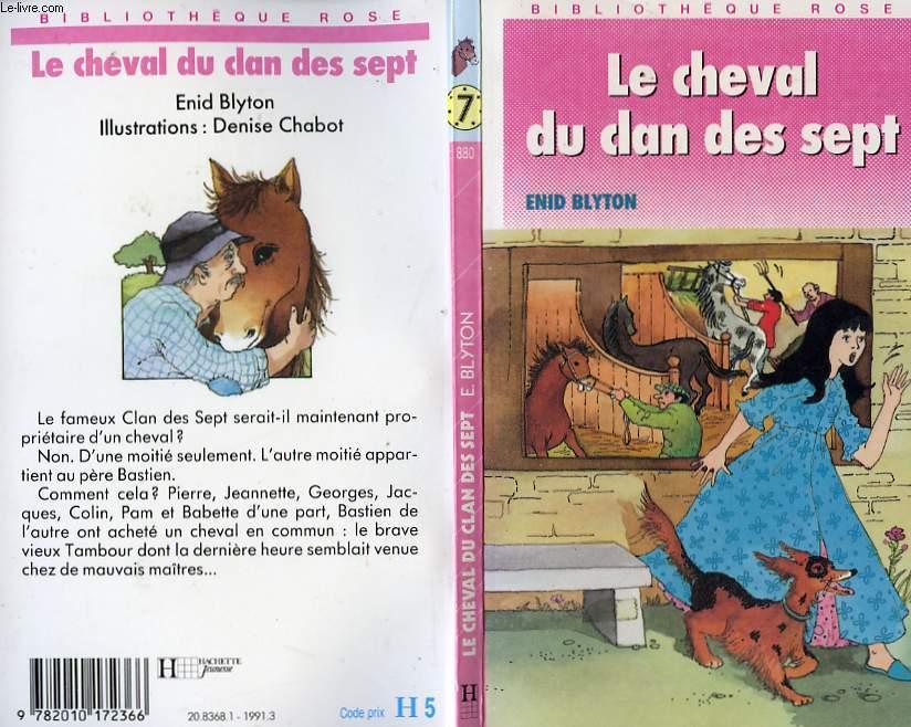 LE CHEVAL DU CLAN DES SEPT