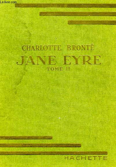 JANE EYRE, TOME 2