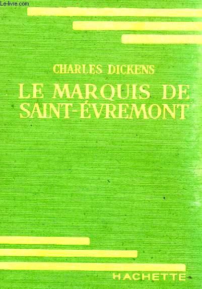 LE MARQUIS DE SAINT-EVREMONT OU PARIS ET LONDRES EN 1793