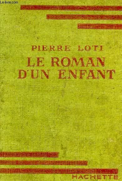 LE ROMAN D'UN ENFANT