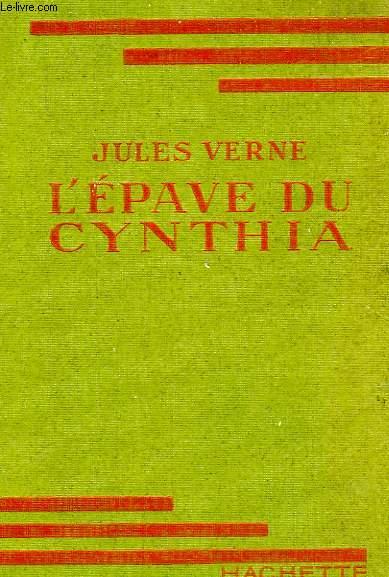 L'EPAVE DU CYNTHIA