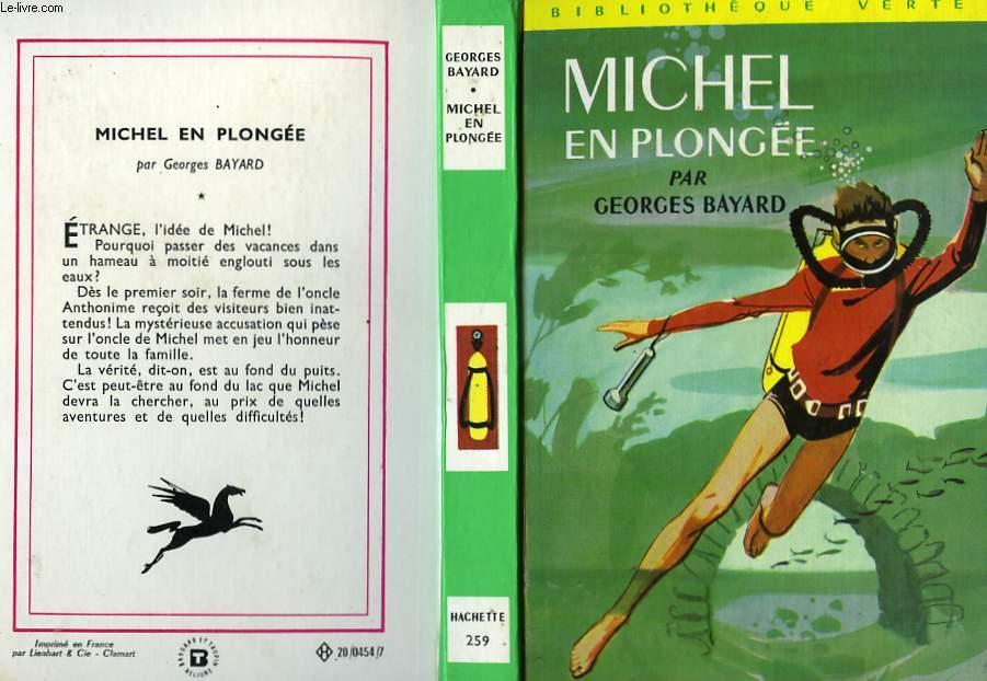 MICHEL EN PLONGEE