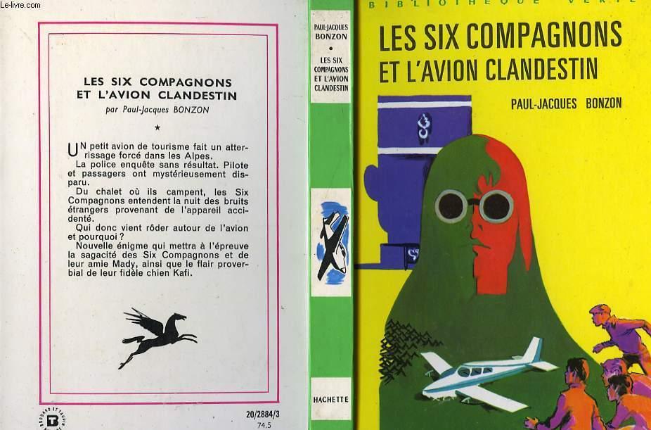 LES SIX COMPAGNONS ET L'AVION CLANDESTIN