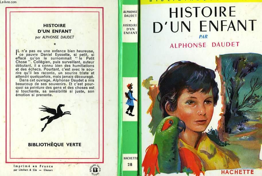 HISTOIRE D'UN ENFANT (LE PETIT CHOSE)