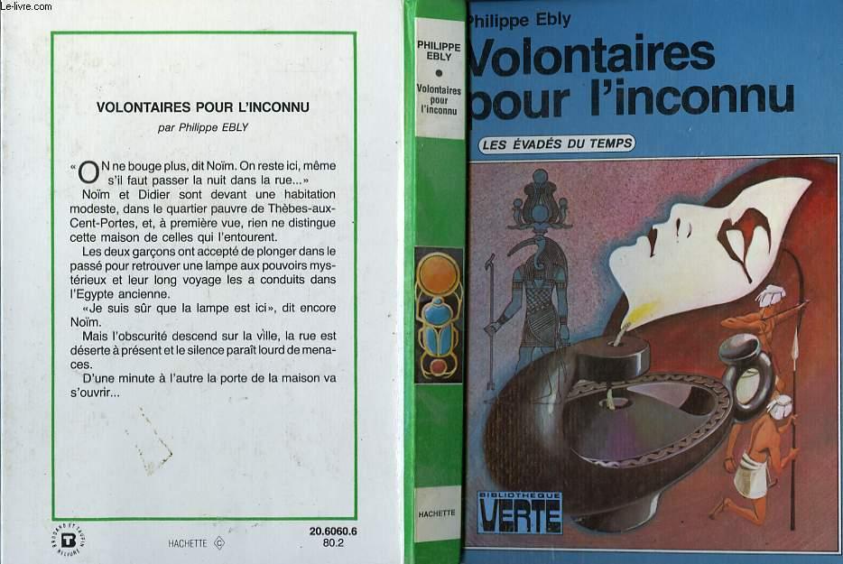 VOLONTAIRES POUR L'INCONNU