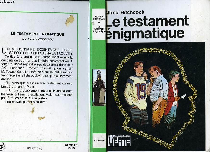 LE TESTAMENT ENIGMATIQUE