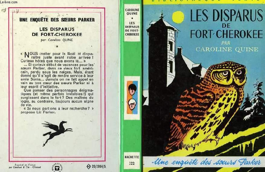 LES DISPARUS DE FORT-CHEROKEE