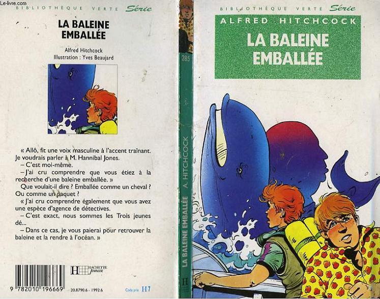 LA BALEINE EMBALLEE