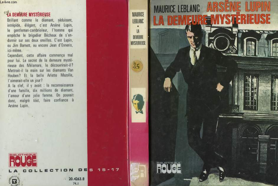 ARSENE LUPIN, LA DEMEURE MYSTERIEUSE