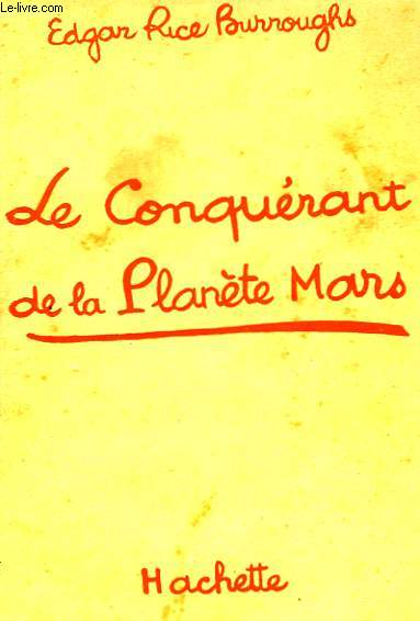 LE CONQUERANT DE LA PLANETE MARS