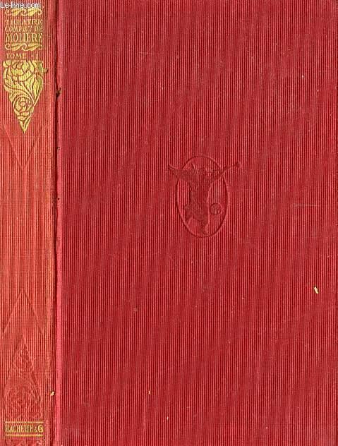 THEATRE COMPLET DE MOLIERE, TOMES 1, 2, 3, 4, et 5