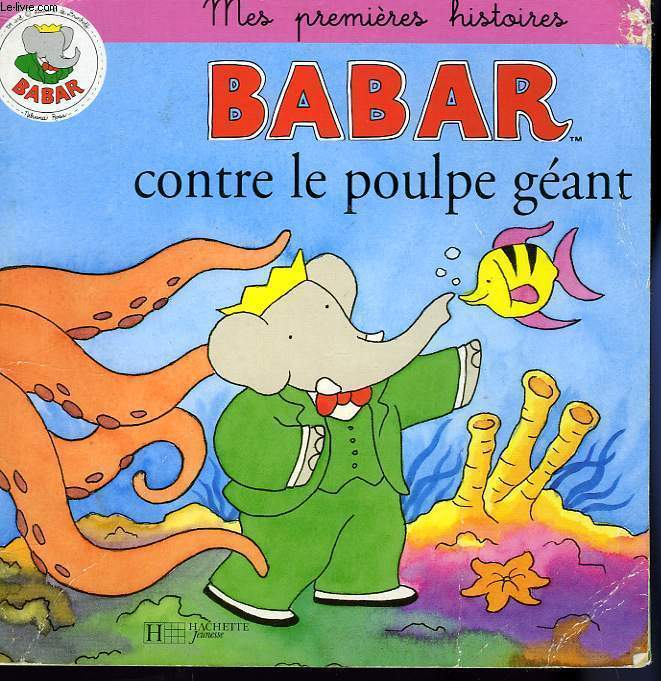 BABAR CONTRE LE POULPE GEANT