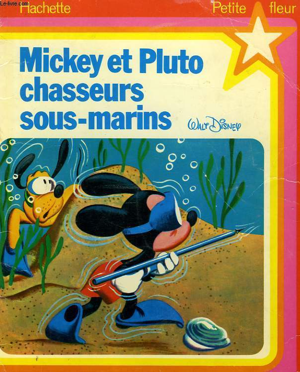 MICKEY ET PLUTO CHASSEURS SOUS-MARINS