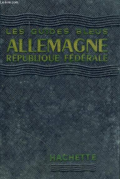 ALLEMAGNE REPUBLIQUE FEDERALE