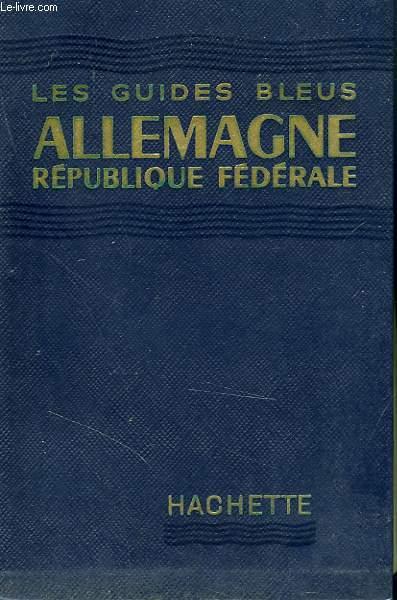 ALLEMAGNE, REPUBLIQUE FEDERALE