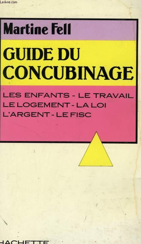 GUIDE DU CONCUBINAGE