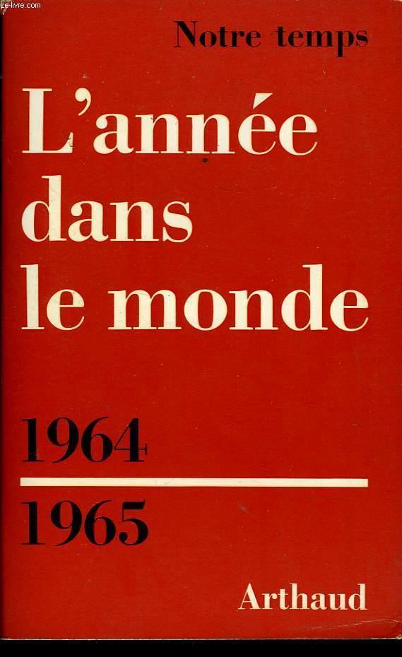 L'ANNEE DANS LE MONDE 1964