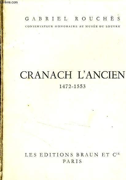 CRANACH L'ANCIEN 1472-1553
