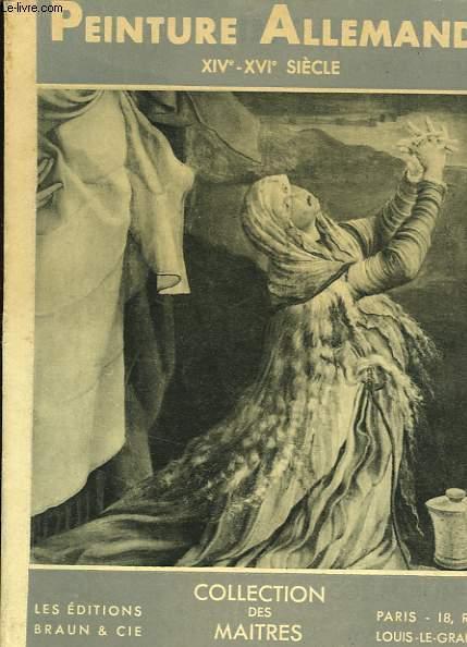 PEINTURE ALLEMANDE XIV-XVI° SIECLE