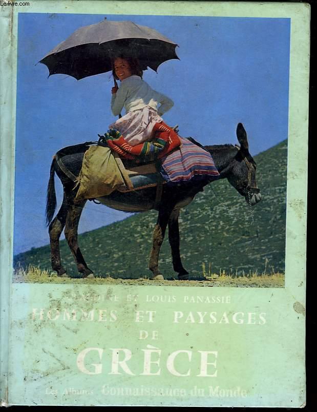 HOMMES ET PAYSAGES EN GRECE