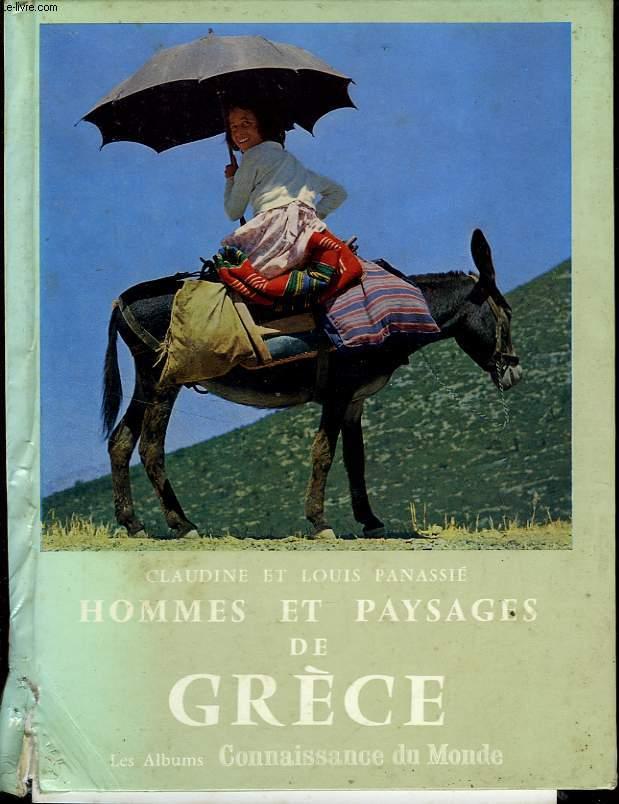 HOMMES ET PAYSAGES DE GRECE