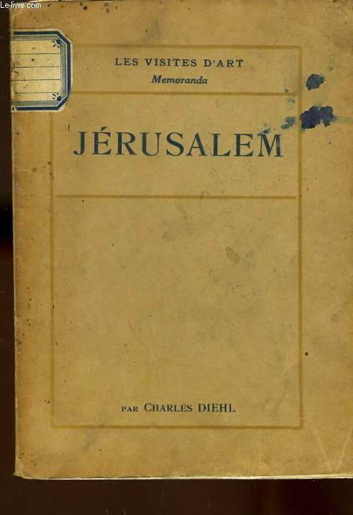 JERUSALEM - LES VISITES D'ART MEMORANDA